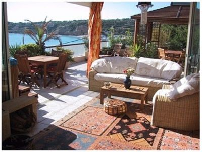 Photo for SEA FRONT 50m from the Beach, 70m2 LUXURY, WIFI, -TERRASSE 60m2, FULL SU