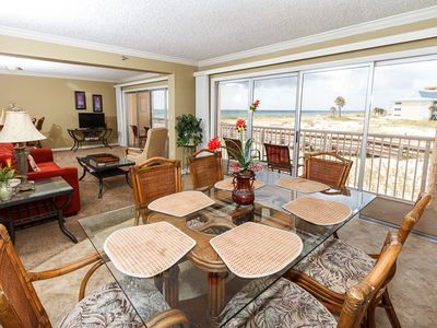 Photo for Islander 206: Great beach condo- pool, BBQ, FREE BEACH CHAIRS, WIFI, GOLF!!!!