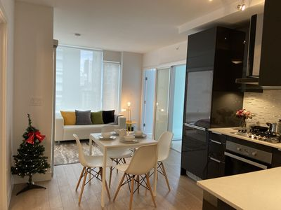 Photo for morden new 2 BR for couple @Vancouver Downtown