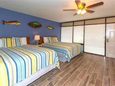 Photo for Home of the 1000 ft lighted fishing pier! Studio condo ground floor