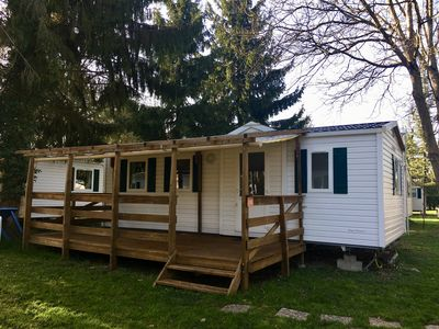 Photo for Air-conditioned mobile home B22 of 30 m² capacity 6 persons near EUROPA PARK