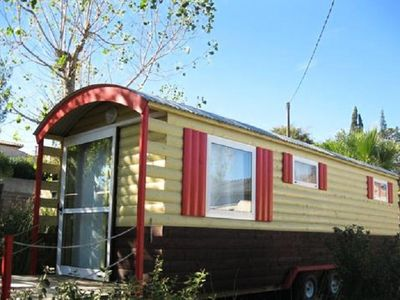 Photo for Camping L'Etang du Pays Blanc *** - Trailer 2 Rooms 4 People