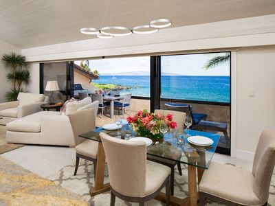 Photo for Gorgeous Beachfront Luxury 2 Bed 2 Bath Maui Condo; Newly Remodeled; Refurnished