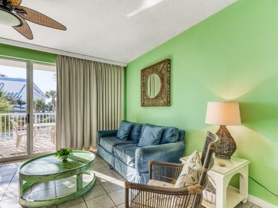 Photo for Condo w/ Partial Gulf View, Lazy River, Kiddie Spray Park, Other Amenities!