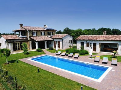 Photo for Villa Stancija Martina with Private Pool and Landscaped Garden