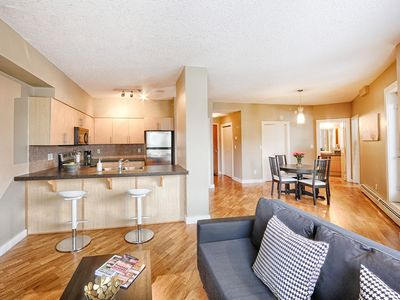 Photo for The heart of Edmonton, walking distance to Rogers Place / many local attractions