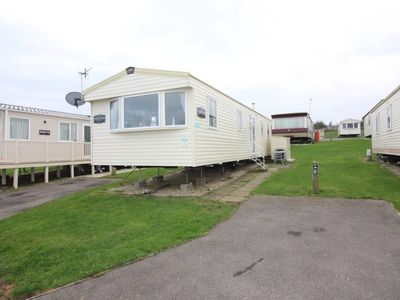 Photo for Lovely 3 Bed Caravan, Reighton Sands, Filey