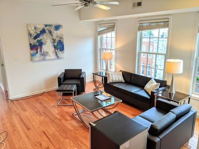 Photo for Luxury 3BD/2.5BA Loft Near Stadiums, Convention Center, and Inner Harbor