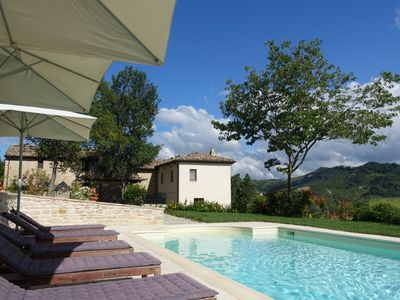 Photo for Fabulous Villa - NOW ONLY £1000 P/WK+FEES FROM 14/09/19. Private Solar Heated Po