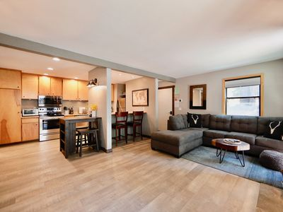 Photo for Epic Mammoth Village Retreat. Remodeled condo next to the Village!