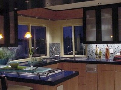Gourmet Kitchen with the finest high-end appliances