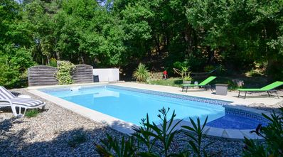 Photo for Air-conditioned villa and pool exclusively for you in Drôme provençale