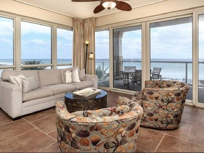 Photo for Romantic Gulf Views, Heated Pools and Hot Tub, and Free Dolphin Cruise!