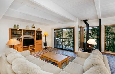 Photo for Wall to Wall Glass - 2 Bedroom 2.5 Bath Ski In Ski Out with Private BBQ