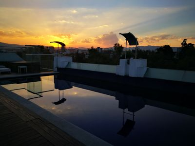 Photo for Incredible Apartment! Pool & Snackbar, Private office & terrace!! Best location