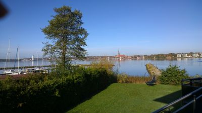 Photo for Maritime apartment directly on the Schlei Ostsseefjord