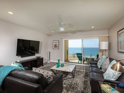 Serenity By The Sea -Oceanfront with AC and VIEWS!