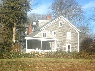 Completely renovated historic property in the heart of West Falmouth Village.