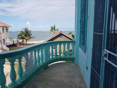 Photo for Escape from the noise and relax in this Tranquil See Belize Sea View 1BR Villa!