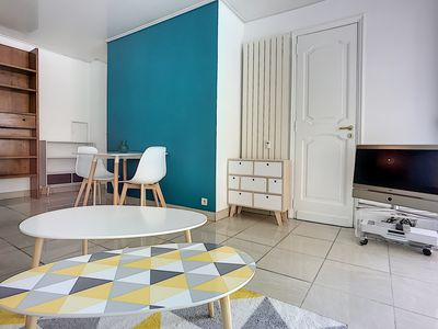 Photo for (045) Charming studio located in the center of Antibes Sea View Aircon