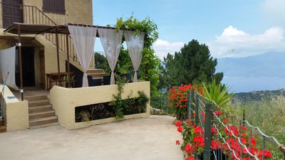 Photo for CHARMING STUDIO WITH VIEW ON CALANCHES OF PIANA