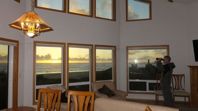 Photo for Pacific Panorama - Sweeping ocean views from this lovely 5 bedroom + loft home