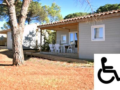 Photo for Camping Les Cigales **** - Chalet Chicana PRM 3 rooms 6 people