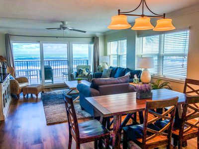 Photo for Family-Friendly Direct Oceanfront 3BR/3BA 2nd Flr. Corner - 1 hr from Orlando
