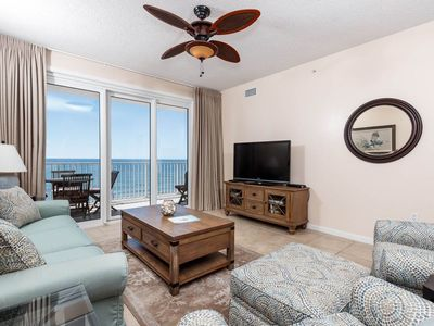 Photo for Gorgeous 11th-Floor Condo! Directly On Beach W/ Gulf-Front Views! Beach Chairs!