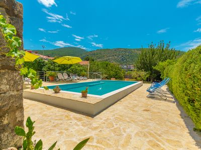 Photo for Historic Villa with heated swimming pool, waterfront, big beautiful garden