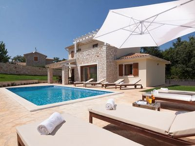 Photo for Newly-built Villa Kvarta with private Garden and Pool
