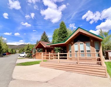 Photo for Newly remodeled 1 bedroom chalet with private bathroom, simply designed living area, fully furnished kitchen, and covered patio for enjoyment during any season
