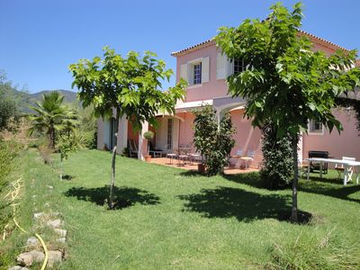 Photo for DETACHED VILLA WITH VIEWS OF THE GULF OF SAGONE
