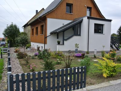 Photo for nice quiet cottage with a small garden on the edge of the Harz