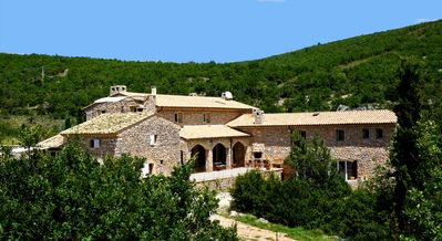 Photo for Superb PROVENCAL BASTIDE in ABSOLUTE CALM, private TENNIS, POOL, JACUZZI.