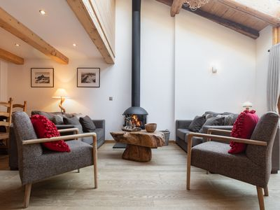 Photo for Appartement Clusettes, Argentière (Chamonix), France