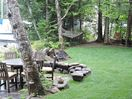 Outside yard - dinning table, Hammock and chairlift
