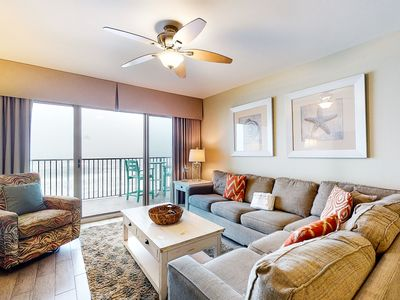 Photo for 4th Floor Gulf Front Condo! Fun Amenities, Nearby Shopping & Dining!