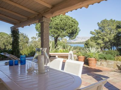 Photo for Wonderful sea view Villa in Marina di Lu Impostu