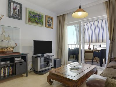 Photo for Air-Conditioned Apartment Directly on the Beach, Balcony with Sea View, Wi-Fi