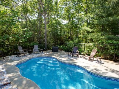 Photo for 3 bedroom  with in ground pool on cul-de-sac