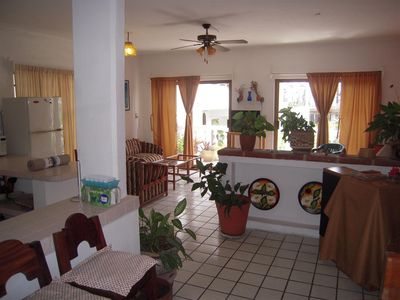 Photo for Spacious Mexican-style home, a perfect spot 1-1/2 Blocks from Los Muertos Beach