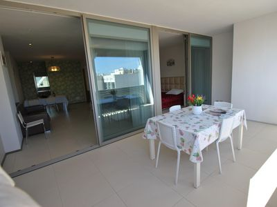 Photo for Beautiful apartment overlooking the sea Gallipoli center