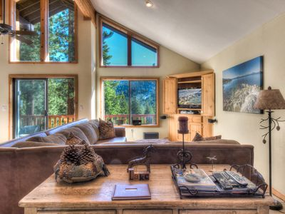 Photo for Spacious Tahoe Home Near Lake, Village and Slopes, Private Rec Room!