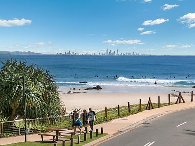 Photo for Pacific View unit 4 - Comfortable budget style, Beachfront Rainbow Bay Coolangatta
