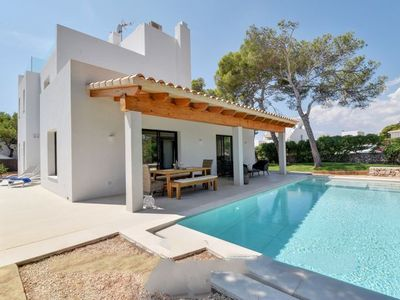 Photo for 4 bedroom Villa, sleeps 8 with Air Con, FREE WiFi and Walk to Beach & Shops