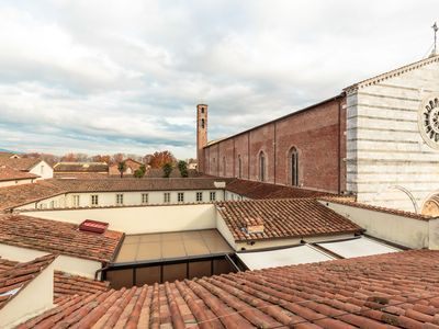 Photo for Central apartment CASA UCCIA to enjoy panoramic views of Lucca