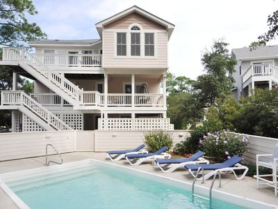 Photo for Starfish: Relax by your private pool and hot tub. Soundfront with awesome sunsets and pet friendly.
