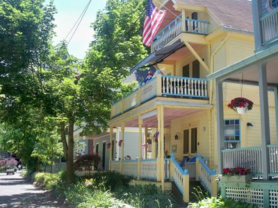 Photo for Beautiful Victorian Home - 1st Floor - Center of Chautauqua grounds