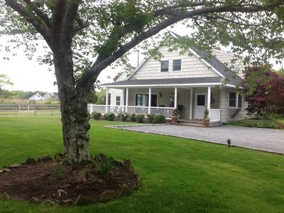 Photo for Welcome Home * Beautiful Horse Estate Guest House On Water By The Beach